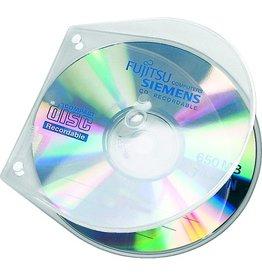 VELOFLEX CD-Hülle VELOBOX®, PP, 125x125x4mm, für: 1 CD, farblos, transparent