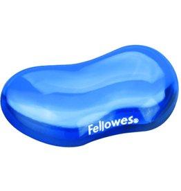Fellowes Handgelenkauflage Crystals™Gel, f.Maus, 12,3x8,7cm, blau