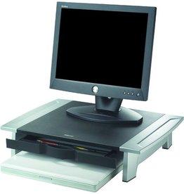 Fellowes Monitorständer, Platte: 50,8 x 35,7 cm, Tragf.: 36 kg, schwarz/silber
