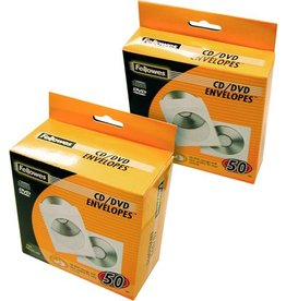 Fellowes CD-Hülle, für: 1CD, weiß