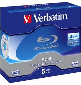 Verbatim Blu-ray Disc™, Jewelc., einmalbeschreibb., 25 GB, 6x