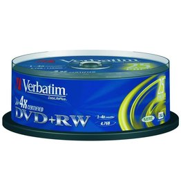 Verbatim DVD+RW DataLifePlus, Spin., wiederb., 4,7GB, 4x