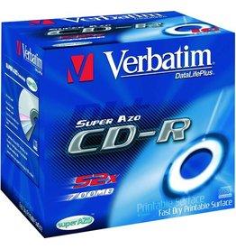 Verbatim CD-R, Jewelcase, einmalbeschreibbar, 700 MB, 80 min, 52 x