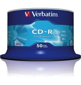 Verbatim CD-R, Spin., einmalbeschreibb., 700MB, 80min, 52x