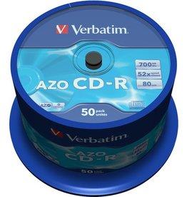 Verbatim CD-R, Spindel, einmalbeschreibbar, 700 MB, 80 min, 52 x