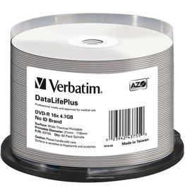 Verbatim DVD-R DataLifePlus, full printable, Spin., 4,7GB, 16x