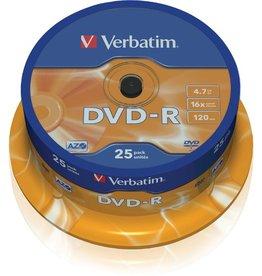 Verbatim DVD-R, Spin., einmalbeschreibb., 4,7GB, 16x