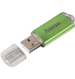 hama USB-Stick FlashPen Laeta, USB 2.0, 64 GB, Lesen: 10 MB/s, grün