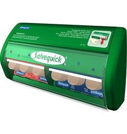 Salvequick Pflasterspender, gefüllt, Kst., grün