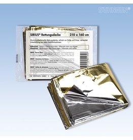 SÖHNGEN Rettungsdecke SIRIUS®, 210x160cm, silber/gold