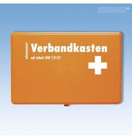 SÖHNGEN Verbandkasten KIEL, gefüllt, Inhalt: DIN 13157, orange
