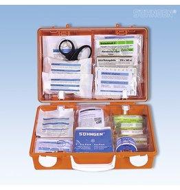 SÖHNGEN Erste-Hilfe-Koffer SN-CD Norm, gefüllt, Inhalt: DIN 13157, 31x13x21cm