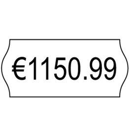 AVERY Zweckform Etikett, Preisauszeichnung, Inkjet, selbstklebend, 26x12mm, weiß