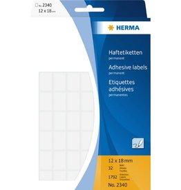 HERMA Etikett, Handbeschriftung, sk, Spezialpapier, 12 x 18 mm, weiß