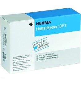 HERMA Etikett DP1, Etikettendrucker, Bg., sk, Pap., 75g/m², 25 x 40 mm, weiß