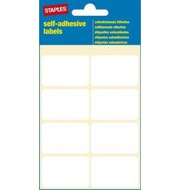 STAPLES Etikett, auf Bogen, sk, 40 x 26 mm, weiß