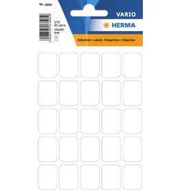 HERMA Etikett, Handbeschriftung, sk, Spezialpapier, 15 x 20 mm, weiß