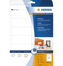 HERMA Etikett, I, sk, 97 x 42,3 mm, weiß