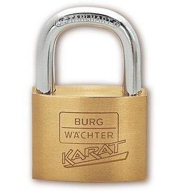 BURG WÄCHTER Vorhängeschloss KARAT, max. Nutzgröße: 23x23,5mm, mit 2 Schlüsseln