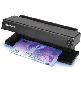 Safescan Geldscheinprüfgerät, 45, Batteriebetrieb, alle Währungen, schwarz