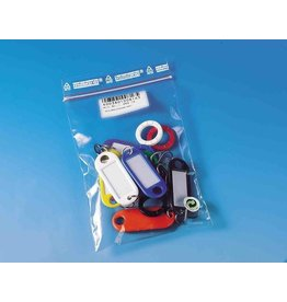 WEDO Schlüsselanhänger, mit Kennringe, 52 x 21 x 3 mm, sortiert