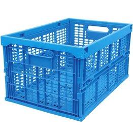 VISO Klappbox, PP, 45 l, 528 x 356 x 273 mm, Tragf.: 20 kg, blau