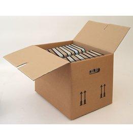 Pressel Umzugskarton, Wellpappe, 400x320x330mm, braun