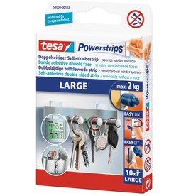 tesa Doppelklebestück Powerstrips® LARGE, sk, ablösbar, 20 x 50 mm