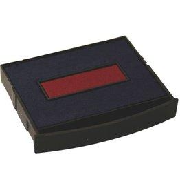 COLOP Ersatzkissen E/2100/2, mit Fassung, getränkt, bl/ro