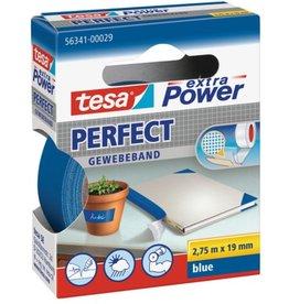 tesa Gewebeband extra Power®, sk, 19mmx2,75m, blau