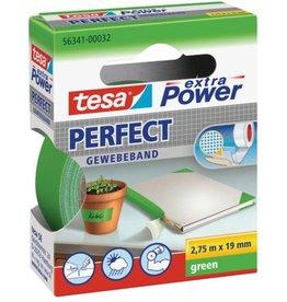 tesa Gewebeband extra Power®, sk, 19mmx2,75m, grün