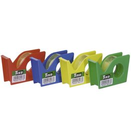 TIXO Handabroller, gefüllt, sortiert, mit 1 Rolle TIXO® 15 mm x 10 m