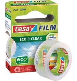 tesa Klebeband ECO & CLEAR, PP(RC), sk, perm., 15mmx10m, farbl., tr