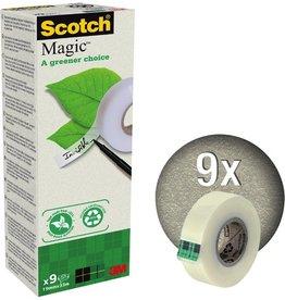 Scotch Klebeband Magic™ A greener choice, sk, permanent, 19mmx33m, tr