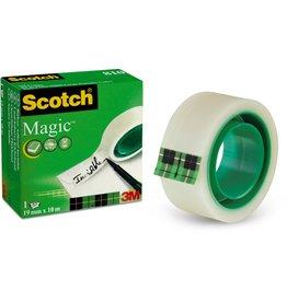 Scotch Klebeband Magic™ Tape 810, Zelluloseacetat, 19 mm x 10 m, transparent