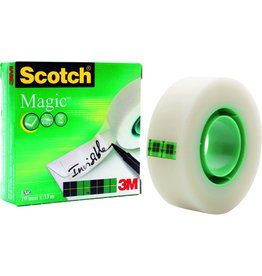 Scotch Klebeband Magic™ Tape 810, Zelluloseacetat, 19 mm x 33 m, transparent