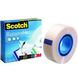 Scotch Klebeband Magic™ Tape 811, sk, ablösbar, 19 mm x 33 m, transparent