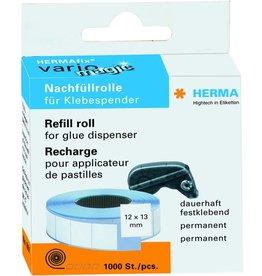 HERMA Nachfüllrolle Vario, für Kleberoller, perm., 13 mm x 12 m