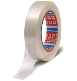 tesa Packband Monofilament, Glasfaser/PET, 19mmx50m, farblos, transparent