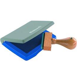 Pelikan Stempelkissen, Kst., Typ: 3 E, i: 7x5cm, getränkt, blau