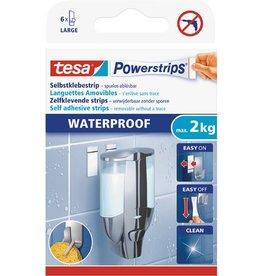 tesa Doppelklebestück Powerstrips Waterproof, 20 x 50 mm