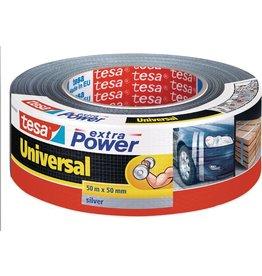 tesa Gewebeband extra Power® Universal, sk, 50 mm x 50 m, silber