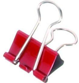 MAUL Briefklemmer mauly®, Metall, B: 19 mm, Klemmweite: 7 mm, rot [12st]