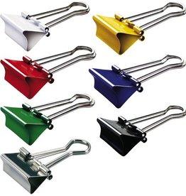MAUL Briefklemmer mauly®, Metall, B: 19 mm, Klemmweite: 7 mm, sortiert