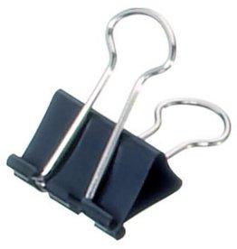 MAUL Briefklemmer mauly®, Metall, B: 25 mm, Klemmweite: 9 mm, schwarz