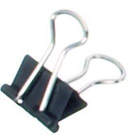MAUL Briefklemmer, Metall, B: 13 mm, Klemmweite: 4 mm, schwarz