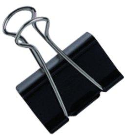STAPLES Briefklemmer, Metall, B: 19 mm, Klemmweite: 7 mm, schwarz