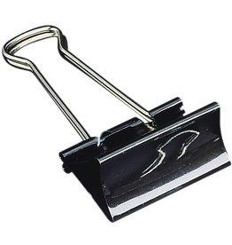 STAPLES Briefklemmer, Metall, B: 41 mm, Klemmweite: 19 mm, schwarz