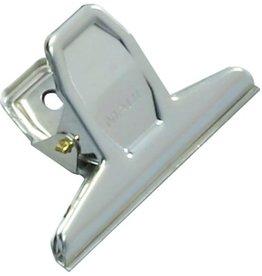 MAUL Briefklemmer, Metall, B: 75 mm, Klemmweite: 20 mm, nickel