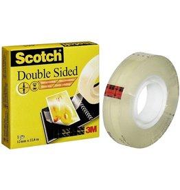 Scotch Doppelklebeband 665, sk, perm., 12,7mmx22,8m